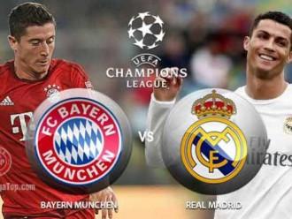 Prediksi Skor Bayern Munich vs Real Madrid 13 April 2017