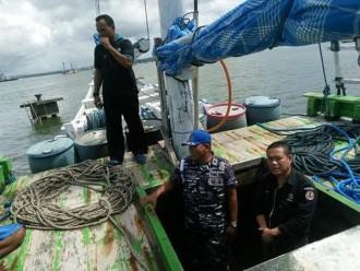 Kubik Di Amankan POM TNI AL Kendari