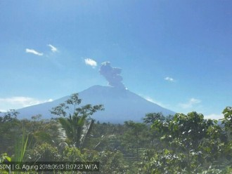 Bali Masih Tetap Aman Meski Erupsi